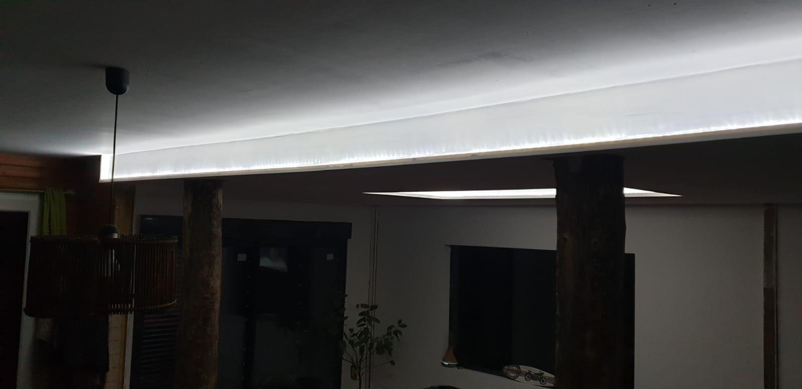 Bandeau Led Encastrable Plafond entreprise d'électricité générale près de saint andré de